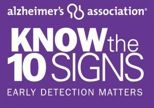 The 10 Warning Signs of Alzheimer's Disease