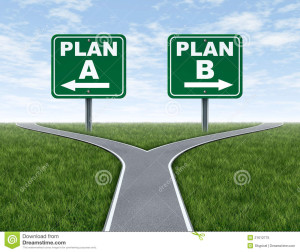 """What is Your """"Plan B?"""""""